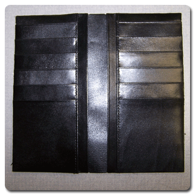0811 Breast Pocket Wallet Real Leather Creations